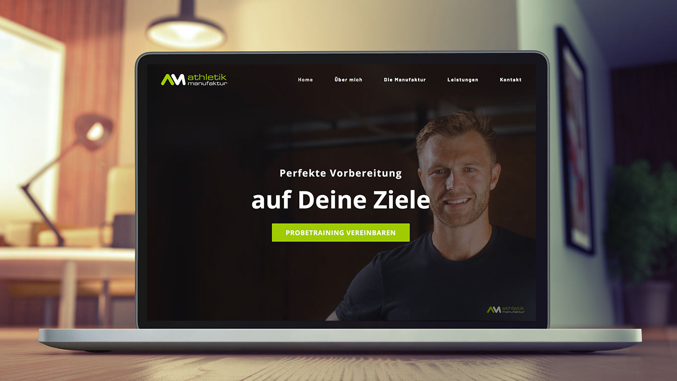 Website online News Athletik Manufaktur Hannover