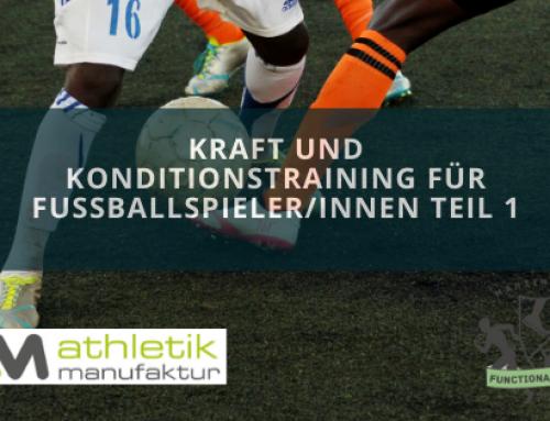 Kraft und Konditionstraining für FussballspielerInnen Teil 1